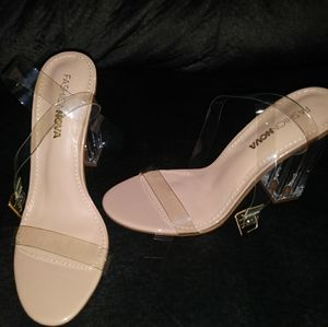 Cinderella glass shoes